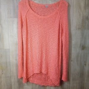 Old Navy XL Sweater corral clolor